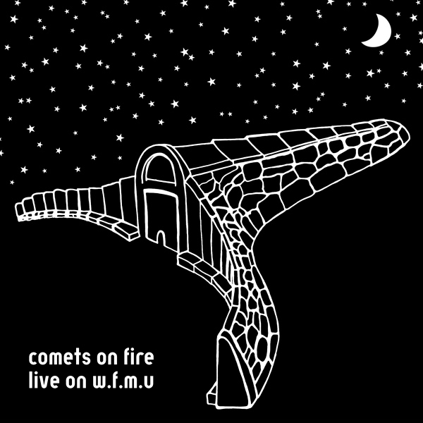 Comets On Fire – Live on W.F.M.U.